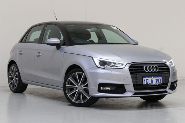 Used Audi A1 8X MY17 Sportback 1.4 TFSI Sport, 2017 Audi A1 8X MY17 Sportback 1.4 TFSI Sport Silver 7 Speed Auto Direct Shift Hatchback