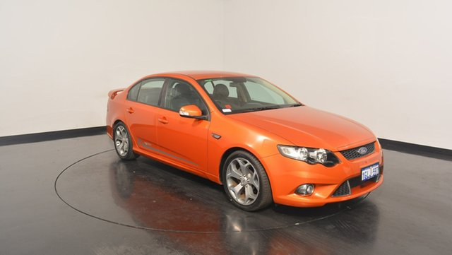 Used Ford Falcon FG XR6 50th Anniversary, 2010 Ford Falcon FG XR6 50th Anniversary Orange 6 Speed Sports Automatic Sedan