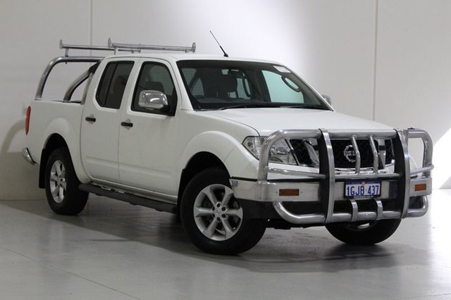 Used Nissan Navara D40 MY12 ST-X (4x4), 2012 Nissan Navara D40 MY12 ST-X (4x4) White 7 Speed Automatic Dual Cab Pick-up