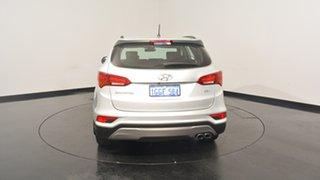 2017 Hyundai Santa Fe DM3 MY17 Active Platinum Silver 6 Speed Sports Automatic Wagon