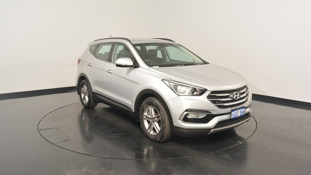 Used Hyundai Santa Fe DM3 MY17 Active, 2017 Hyundai Santa Fe DM3 MY17 Active Platinum Silver 6 Speed Sports Automatic Wagon