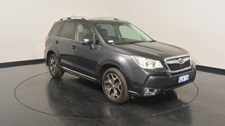 2013 Subaru Forester S4 MY13 XT Lineartronic AWD Black 8 Speed Constant Variable Wagon.