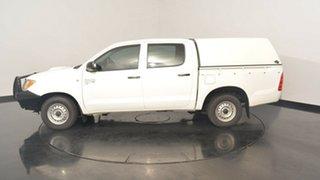 2006 Toyota Hilux KUN16R MY05 SR White 5 Speed Manual Utility.