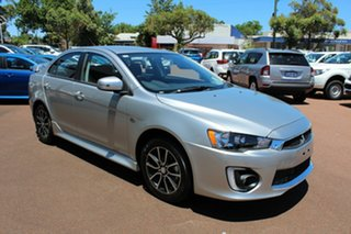 2017 Mitsubishi Lancer CF MY17 ES Sport Sterling Silver 6 Speed Constant Variable Sedan.