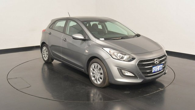 Used Hyundai i30 GD4 Series II MY17 Active, 2017 Hyundai i30 GD4 Series II MY17 Active Sparkling Metal 6 Speed Sports Automatic Hatchback
