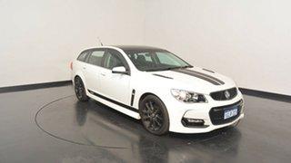 2016 Holden Commodore VF II MY16 SS V Sportwagon White 6 Speed Sports Automatic Wagon.