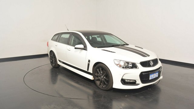 Used Holden Commodore VF II MY16 SS V Sportwagon, 2016 Holden Commodore VF II MY16 SS V Sportwagon White 6 Speed Sports Automatic Wagon