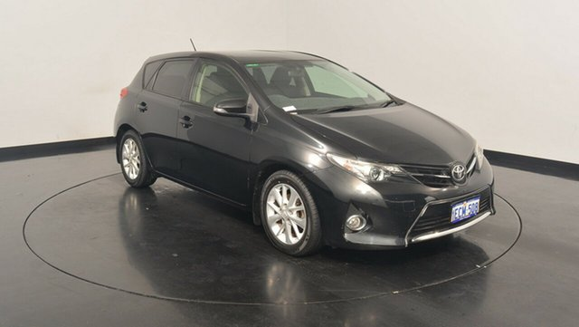 Used Toyota Corolla ZRE182R Ascent Sport S-CVT, 2013 Toyota Corolla ZRE182R Ascent Sport S-CVT Black 7 Speed Constant Variable Hatchback