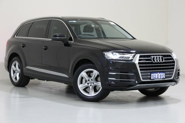 Used Audi Q7 4M 3.0 TDI Quattro, 2016 Audi Q7 4M 3.0 TDI Quattro Black 8 Speed Automatic Tiptronic Wagon