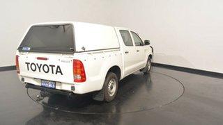 2006 Toyota Hilux KUN16R MY05 SR White 5 Speed Manual Utility