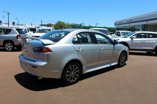 2017 Mitsubishi Lancer CF MY17 ES Sport Sterling Silver 6 Speed Constant Variable Sedan