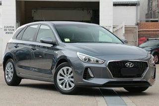 2018 Hyundai i30 PD MY18 Go Iron Gray 6 Speed Sports Automatic Hatchback.