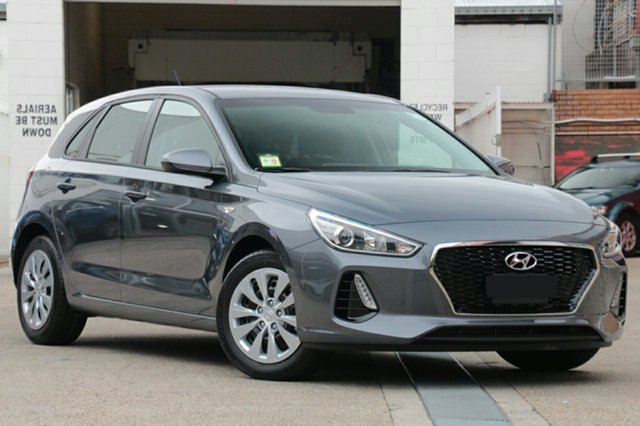 New Hyundai i30 PD MY18 Go, 2018 Hyundai i30 PD MY18 Go Iron Grey 6 Speed Sports Automatic Hatchback