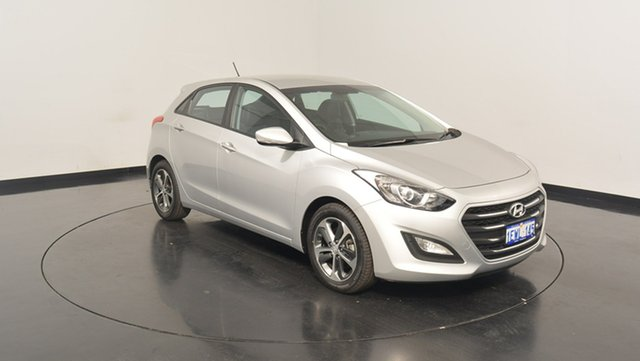 Used Hyundai i30 GD3 Series II MY16 Active X, 2015 Hyundai i30 GD3 Series II MY16 Active X Sleek Silver 6 Speed Sports Automatic Hatchback