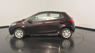2008 Mazda 2 DE10Y1 Neo Purple 5 Speed Manual Hatchback.