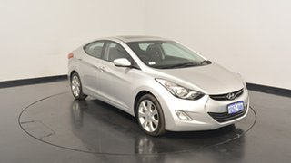 2011 Hyundai Elantra MD Premium Sleek Silver 6 Speed Sports Automatic Sedan.