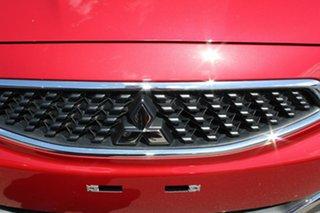 2017 Mitsubishi Mirage LA MY17 ES Red Planet 1 Speed Constant Variable Hatchback