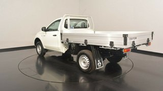 2017 Mitsubishi Triton MQ MY17 GLX White 5 Speed Manual Cab Chassis