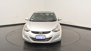 2011 Hyundai Elantra MD Premium Sleek Silver 6 Speed Sports Automatic Sedan