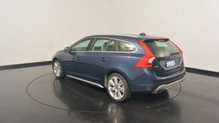 2013 Volvo V60 F Series MY13 T6 Geartronic AWD Dark Blue 6 Speed Sports Automatic Wagon.