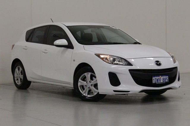 Used Mazda 3 BL 11 Upgrade Neo, 2012 Mazda 3 BL 11 Upgrade Neo White 5 Speed Automatic Hatchback
