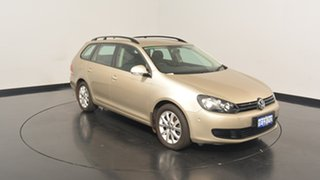 2013 Volkswagen Golf VI MY13.5 90TSI DSG Trendline Moon Rock Silver 7 Speed.