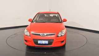 2011 Hyundai i30 FD MY11 SX Shine Red 4 Speed Automatic Hatchback