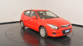 2011 Hyundai i30 FD MY11 SX Shine Red 4 Speed Automatic Hatchback.