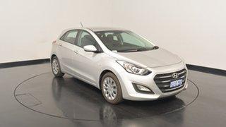2017 Hyundai i30 GD4 Series II MY17 Active Platinum Silver Metallic 6 Speed Sports Automatic.