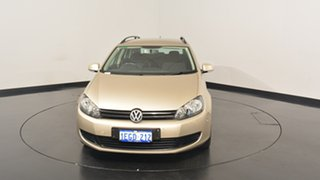 2013 Volkswagen Golf VI MY13.5 90TSI DSG Trendline Moon Rock Silver 7 Speed