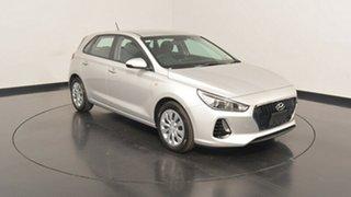 2017 Hyundai i30 PD MY18 Go Platinum Silver Metallic 6 Speed Sports Automatic Hatchback.