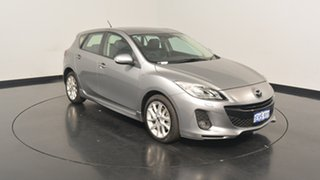 2013 Mazda 3 BL10L2 MY13 SP25 Activematic Silver 5 Speed Sports Automatic Hatchback.