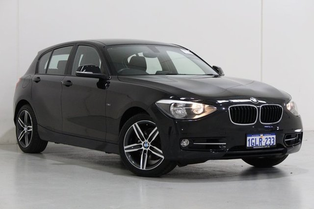 Used BMW 118i F20 MY13 Sport Line, 2013 BMW 118i F20 MY13 Sport Line Black 8 Speed Automatic Hatchback