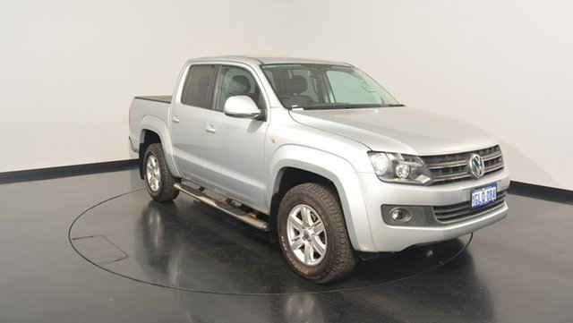 Used Volkswagen Amarok 2H MY14 TDI420 4Motion Perm Highline, 2013 Volkswagen Amarok 2H MY14 TDI420 4Motion Perm Highline Silver 8 Speed Automatic Utility