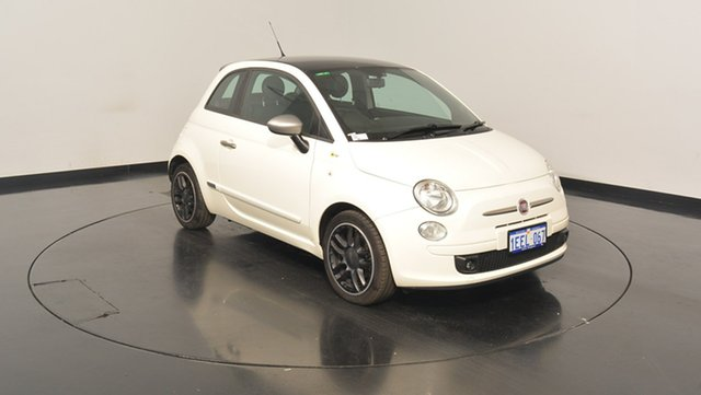 Used Fiat 500 Series 1 Rock Star, 2013 Fiat 500 Series 1 Rock Star White 5 Speed Manual Hatchback