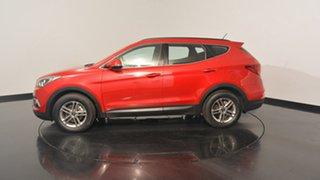 2017 Hyundai Santa Fe DM3 MY17 Active Red Merlot 6 Speed Sports Automatic Wagon.