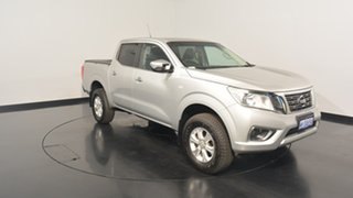 2015 Nissan Navara D23 RX Silver 6 Speed Manual Cab Chassis.