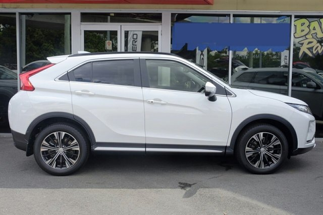 New Mitsubishi Eclipse Cross YA MY19 Exceed AWD, 2019 Mitsubishi Eclipse Cross YA MY19 Exceed AWD White 8 Speed Constant Variable Wagon