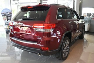 2017 Jeep Grand Cherokee WK MY18 Limited Velvet Red 8 Speed Sports Automatic Wagon.