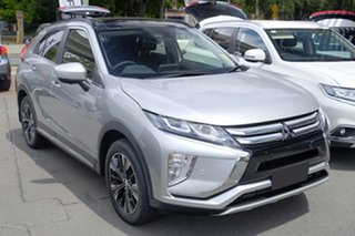 2017 Mitsubishi Eclipse Cross YA MY18 Exceed AWD Sterling Silver 8 Speed Constant Variable Wagon.