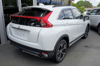 2019 Mitsubishi Eclipse Cross YA MY20 Exceed AWD White 8 Speed Constant Variable Wagon.