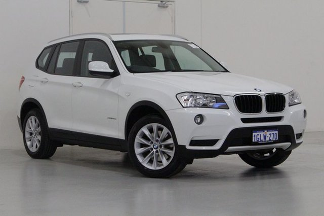 Used BMW X3 F25 MY14 xDrive 20D, 2014 BMW X3 F25 MY14 xDrive 20D White 8 Speed Automatic Wagon