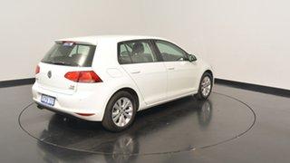 2014 Volkswagen Golf VII MY14 90TSI DSG Comfortline Pure White 7 Speed Sports Automatic Dual Clutch