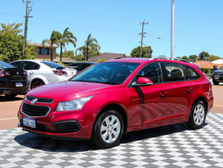 2015 Holden Cruze JH Series II MY15 CD Sportwagon Velvet Red 6 Speed Sports Automatic Wagon.