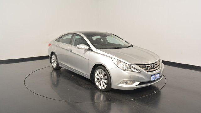 Used Hyundai i45 YF Premium, 2010 Hyundai i45 YF Premium Sleek Silver 6 Speed Sports Automatic Sedan