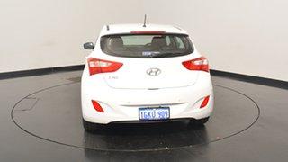 2015 Hyundai i30 GD4 Series II MY16 Active Polar White 6 Speed Sports Automatic Hatchback