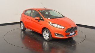 2016 Ford Fiesta WZ Trend PwrShift Mars Red 6 Speed Sports Automatic Dual Clutch Hatchback.