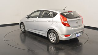 2016 Hyundai Accent RB4 MY17 Active Sleek Silver 6 Speed Constant Variable Hatchback.