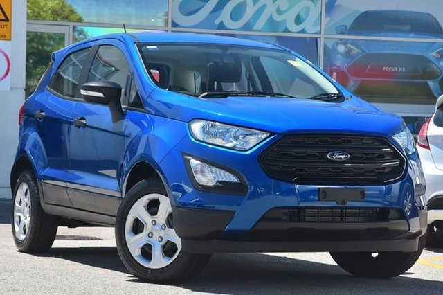 New Ford Ecosport BL Ambiente, 2018 Ford Ecosport BL Ambiente Lightning Blue 6 Speed Automatic Wagon