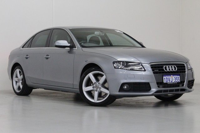Used Audi A4 B8 (8K) MY12 2.0 TFSI Quattro, 2012 Audi A4 B8 (8K) MY12 2.0 TFSI Quattro Grey 7 Speed Auto Direct Shift Sedan